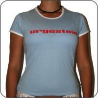 Urgestein T-Shirt Girls blau/rot
